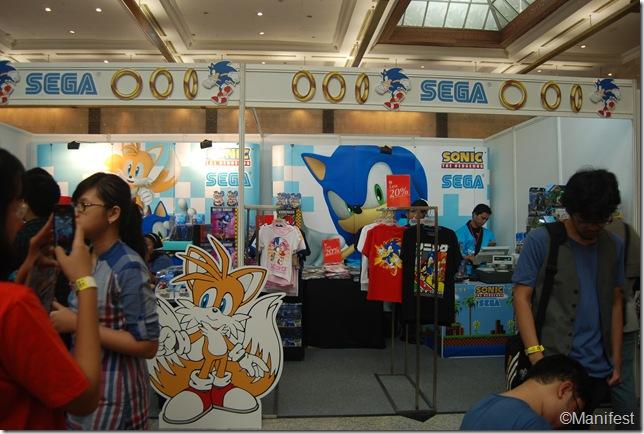 SEGA booth